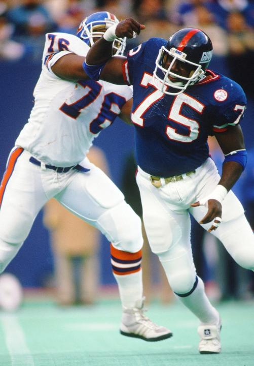 George Martin, New York Giants (November 23, 1986)