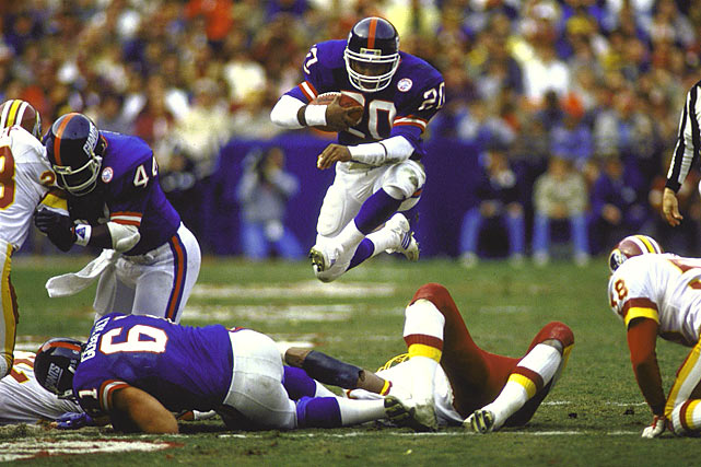 Joe Morris, New York Giants (December 7, 1986)