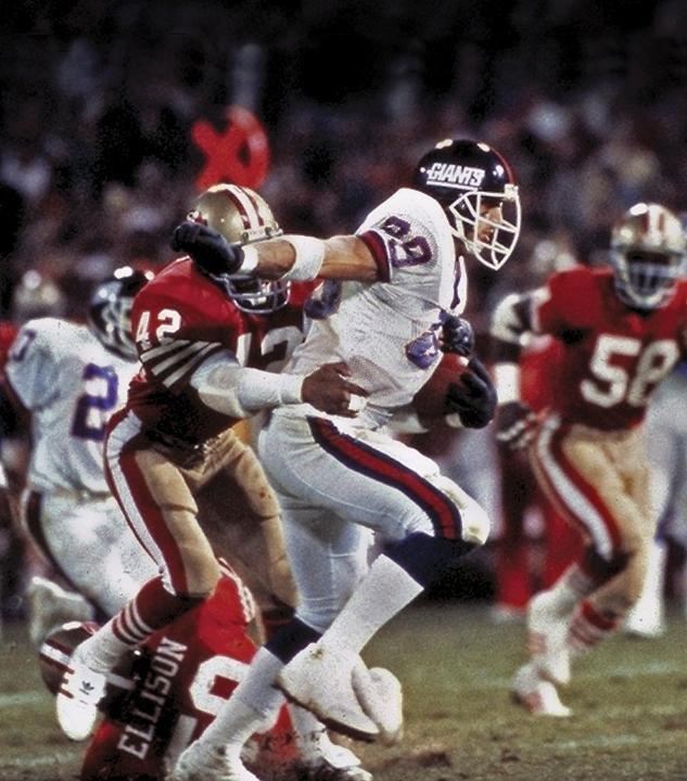 Mark Bavaro, New York Giants (December 1, 1986)