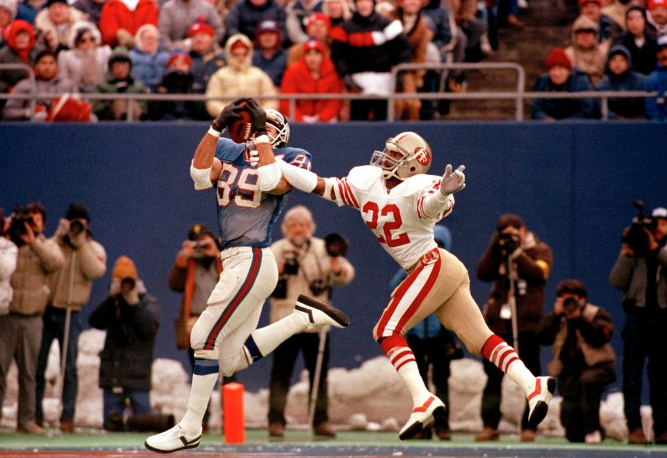 Mark Bavaro, New York Giants (January 4, 1987)