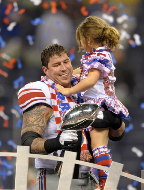 David Diehl, New York Giants (February 5, 2012)