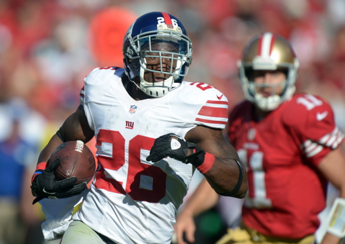 Antrel Rolle, New York Giants (October 14, 2012)