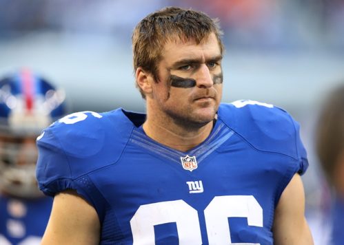 Bear Pascoe, New York Giants (October 28, 2012)