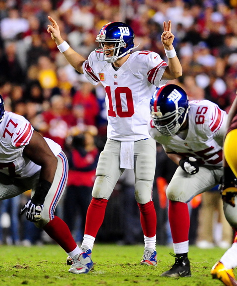 Eli Manning, New York Giants (December 3, 2012)