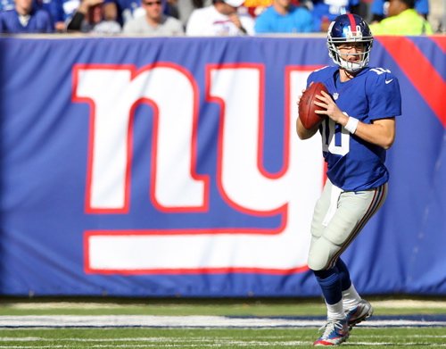 Eli Manning, New York Giants (October 21, 2012)