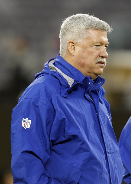 Kevin Gilbride, New York Giants (December 9, 2012)