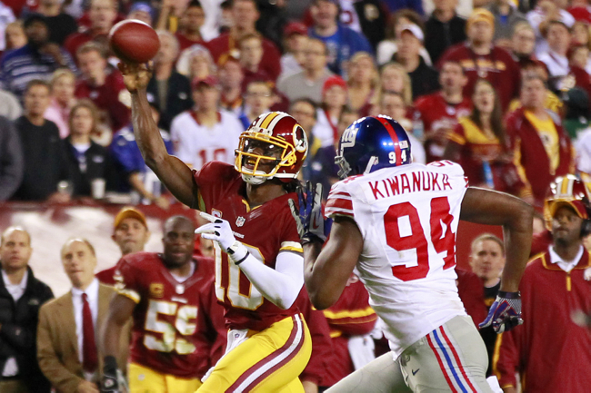 Mathias Kiwanuka, New York Giants (December 3, 2012)