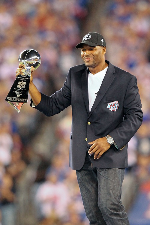 Michael Strahan, New York Giants (September 5, 2012)