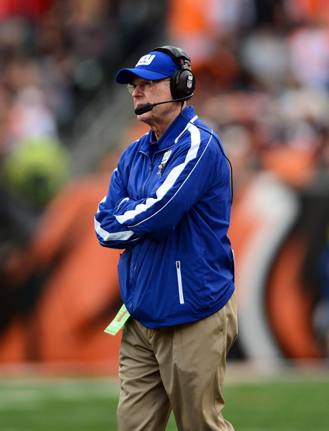 Tom Coughlin, New York Giants (November 11, 2012)