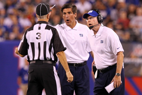 Tom Quinn, Tom Coughlin, New York Giants (August 29, 2012)