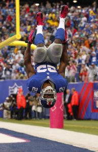 David Wilson, New York Giants (October 7, 2012)