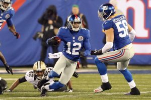 Jerrel Jernigan, New York Giants (December 9, 2012)