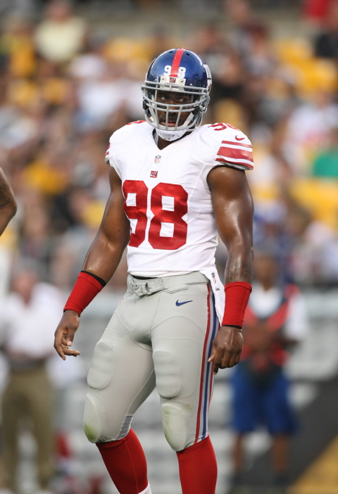 Adrian Tracy, New York Giants (August 10, 2013)