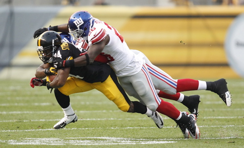 Antrel Rolle, New York Giants (August 10, 2013)