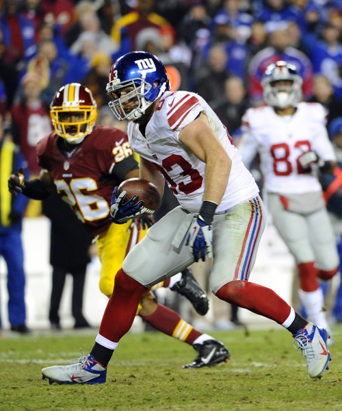 Brandon Myers, New York Giants (December 1, 2013)