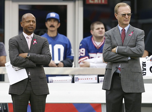 Jerry Reese and John Mara, New York Giants (October 6, 2013)