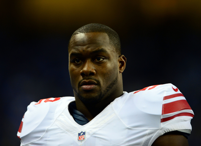 Jon Beason, New York Giants (December 22, 2013)