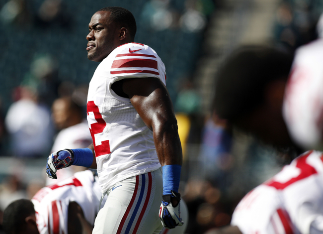 Jon Beason, New York Giants (October 27, 2013)