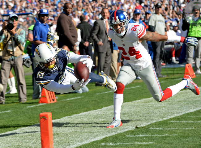 Review New York Giants At San Diego Chargers December 8