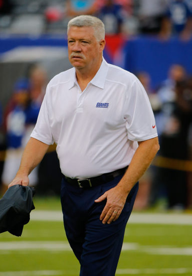 Kevin Gilbride, New York Giants (August 18, 2013)
