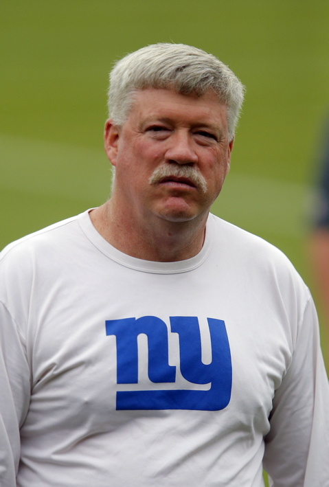 Kevin Gilbride, New York Giants (May 22, 2013)