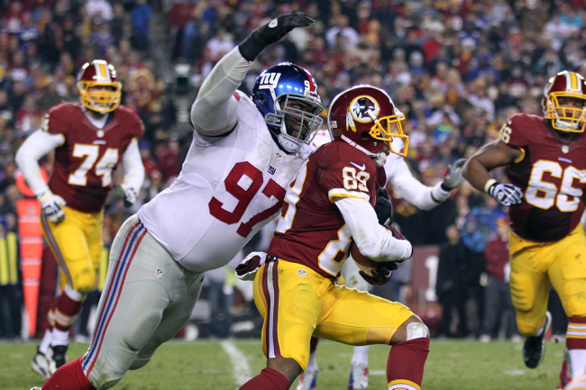 Linval Joseph, New York Giants (December 1, 2013)