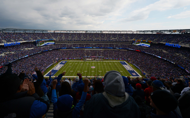 MetLife Stadium, New York Giants (November 10, 2013)