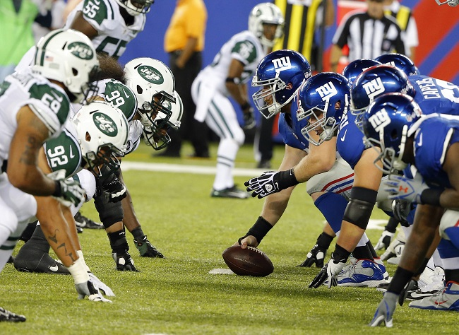 New York Giants-New York Jets Preseason (August 24, 2013)