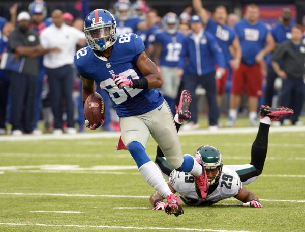 Rueben Randle, New York Giants (October 6, 2013)