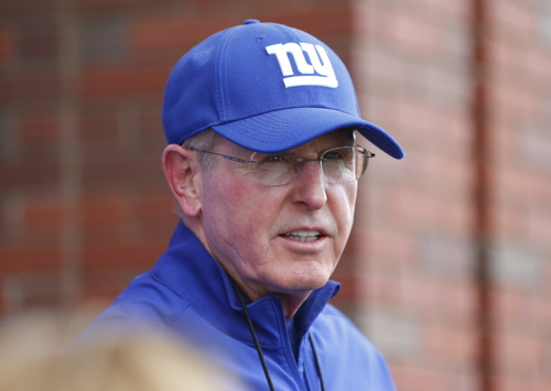 Tom Coughlin, New York Giants (June 11, 2013)
