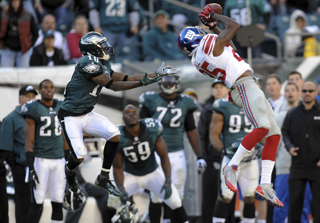 Will Hill, New York Giants (October 27, 2013)