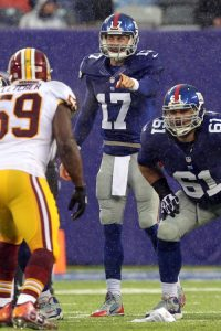 Curtis Painter, New York Giants (December 29, 2013)