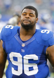 Johnathan Hankins, New York Giants (October 6, 2013)