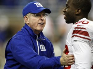 Tom Coughlin, Prince Amukamara, New York Giants (December 22, 2013)
