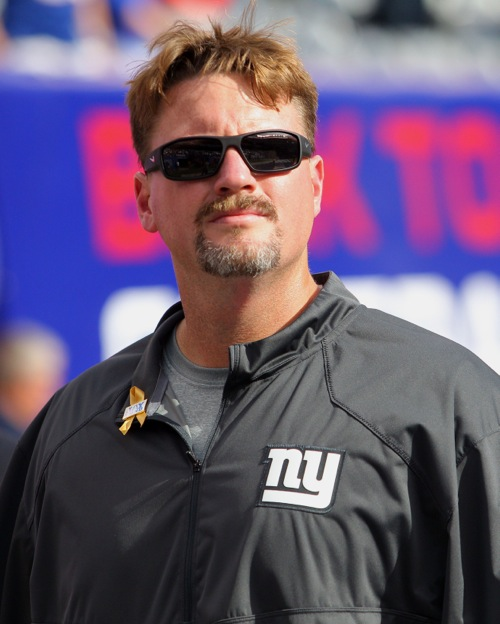Ben McAdoo, New York Giants (September 14, 2014)