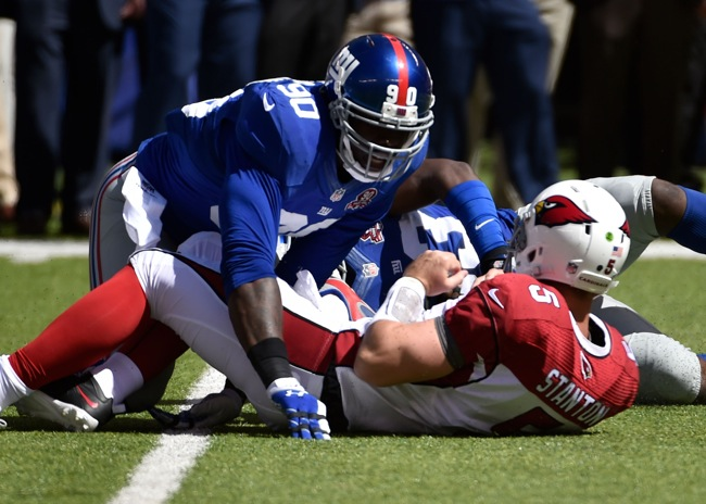 Jason Pierre-Paul, New York Giants (September 14, 2014)
