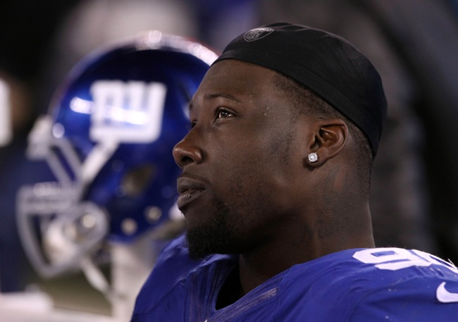 Jason Pierre-Paul, New York Giants (November 3, 2014)