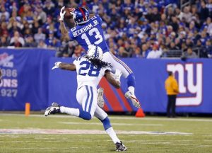 Odell Beckham, New York Giants (November 3, 2014)