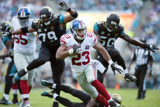Rashad Jennings, New York Giants (November 30, 2014)