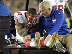 Victor Cruz, New York Giants (October 12, 2014)