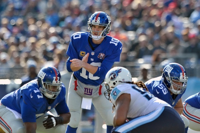 Eli Manning, New York Giants (December 7, 2014)