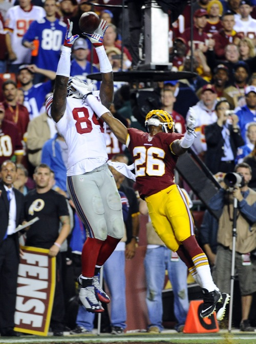 Larry Donnell, New York Giants (September 25, 2014)