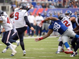 Damontre Moore, New York Giants (September 14, 2014)
