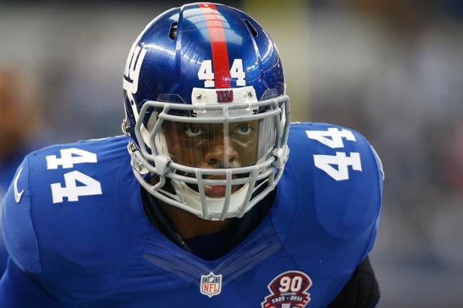 Andre Williams, New York Giants (October 19, 2014)