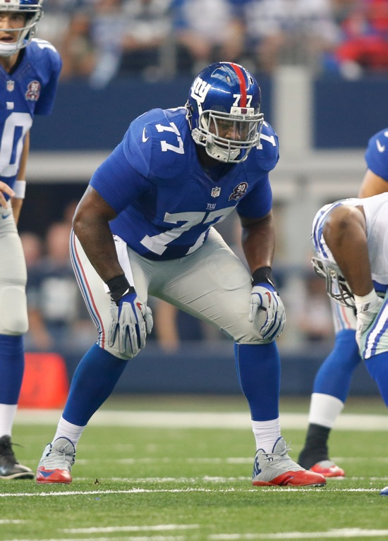 John Jerry, New York Giants (October 19, 2014)