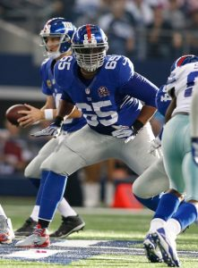 Will Beatty, New York Giants (October 19, 2014)