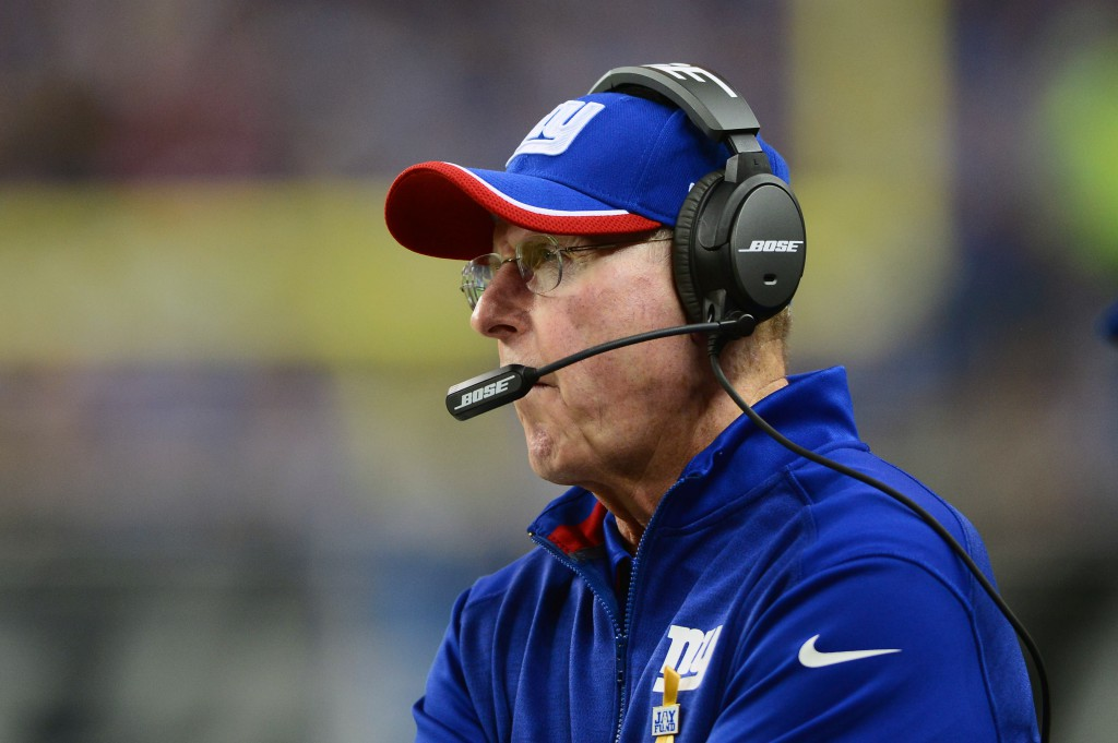 Tom Coughlin, New York Giants (September 8, 2014)
