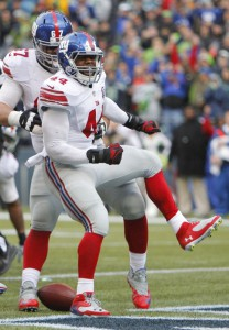 Andre Williams, New York Giants (November 9, 2014)