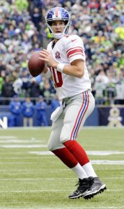 Eli Manning, New York Giants (November 9, 2014)