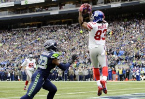 Preston Parker, New York Giants (November 9, 2014)
